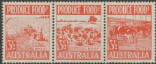 SG 258a ACSC 290eb. Produce Food - 3½d Food strip (AE1/47)